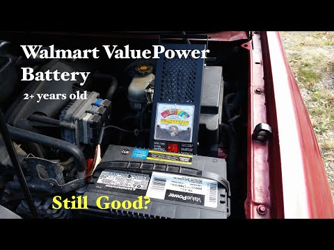 Testing A $50 2 Year+ ....Walmart ValuePower Battery. Do You Have One? Is It Still Going?
