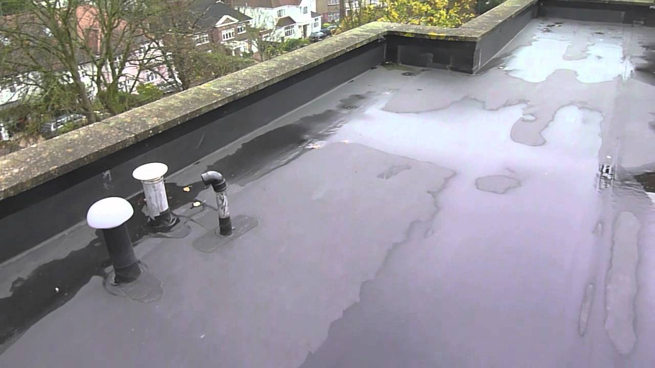 Large Rubber Edpm Flat Roof Nw6 Youtube