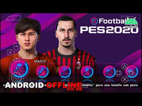 Game Android Offline PES2020 Best Graphics New Faces & Transfers Winter Link + Cara Install - 동영상