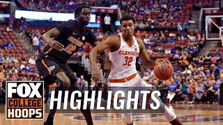 Florida vs Clemson | Highlights | FOX COLLEGE HOOPS