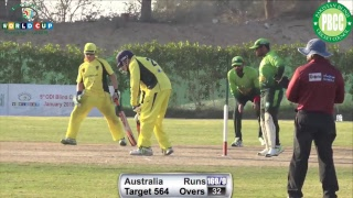 Live from UAE 5th Blind Cricket World Cup 2018 Pakistan Vs Australia 14/01/2018