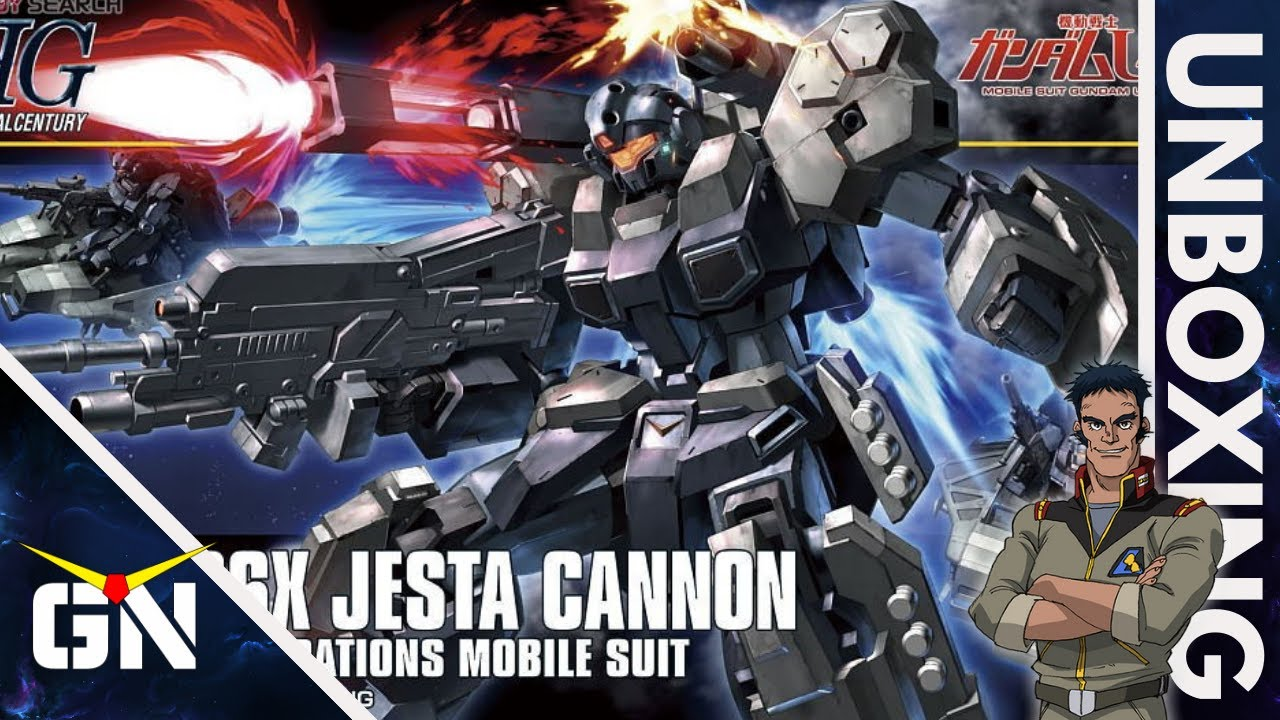 HG 1/144 Jesta Cannon | UNBOXING