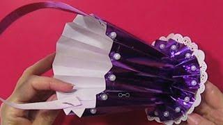 Супер Простые Поделки Подарки Своими Руками Корзинка Ваза Из Бумаги Поделки своими руками Origami