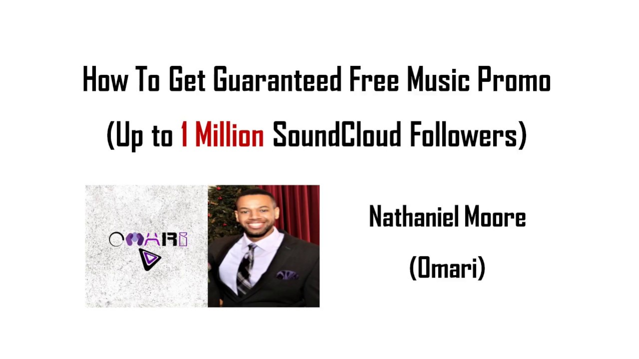 How To Get *Guaranteed* Free Music Promotion (Up To 1 Million SoundCloud  Followers)