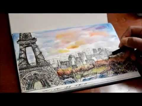 Travel Sketching -Paris
