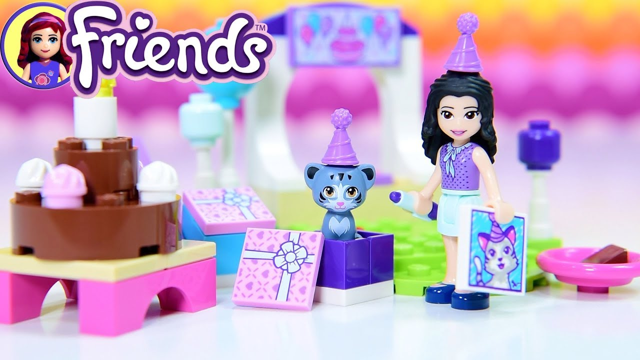 Lego Friends Juniors Emmas Pet Party Fan Shoutouts Youtube