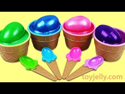 Thumbnail: Learn Colors Slime Surprise Toys Play Doh Peppa Pig Elephant Molds Fun and Creative for Kids