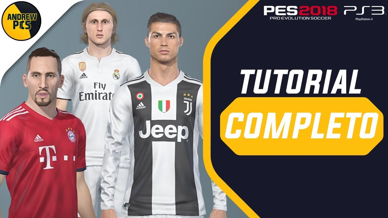 PES 2018 PS3 Copa America 2019 Option File v2 by AndrewPES
