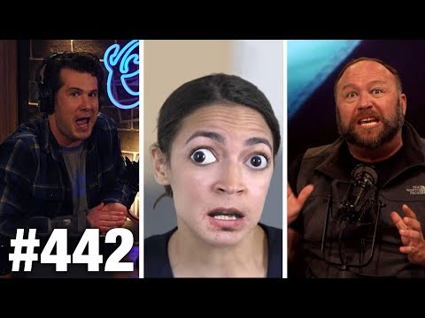 #442 AOC CAUGHT IN DIRTY MONEY SCAM! | Alex Jones Guests | Louder With Crowder