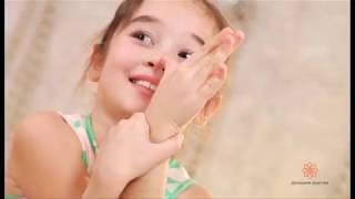 Занятие по йоге для детей в традиции йоги Айенгара