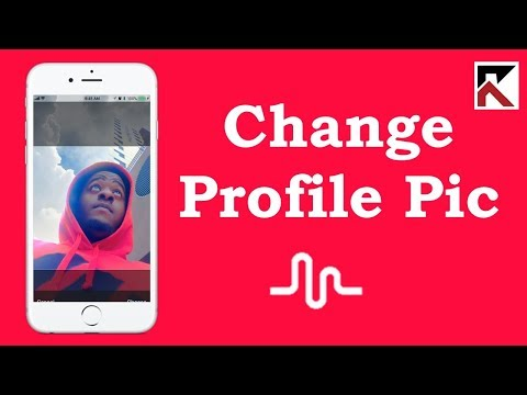 How To Change Profile Photo Musical.ly iPhone