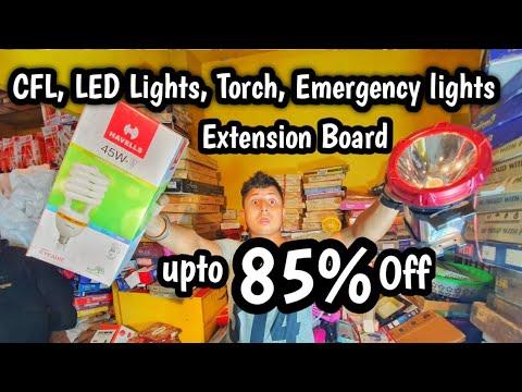 Cheapest Electronic Items LED Lights, Bulb, Extension Board, Tube Light, Fan   VANSHMJ