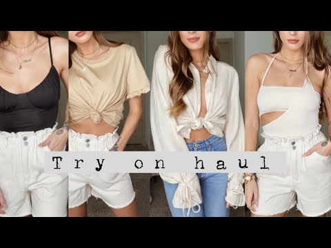 princess Polly try on haul