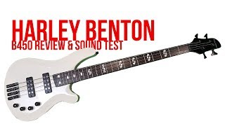 Harley benton Bass (B-450 Demo)