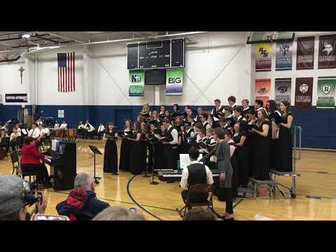 Peoria Notre Dame High School Choir Christmas Concert December 9, 2018