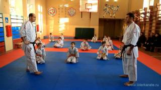 Видеоуроки Косики каратэ (Koshiki karate lessons). Подсечка. Олег Эстон. 5дан(Видеоуроки от главного тренера Школы каратэ