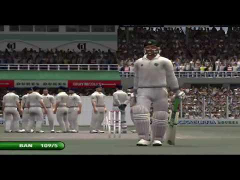BANGLADESH V/S ENGLAND 1st TEST 2016 (EA CRICKET 2016 GAMEPLAY).