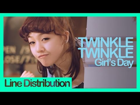 [Line Distribution] Girl's Day - Twinkle Twinkle