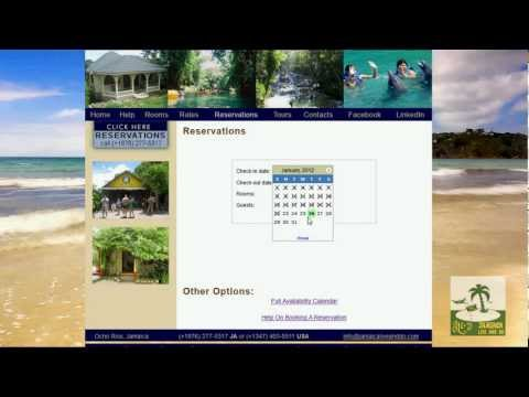 Booking A Room - With Jamaica Live And Do Reservations