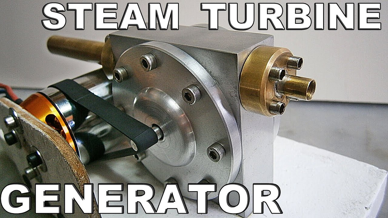 Steam Air Turbine Generator Test