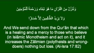 Ayat ash-Shifa -Six Quranic Verses of Healing. آيات الشفاء.ماهر المعيقلي