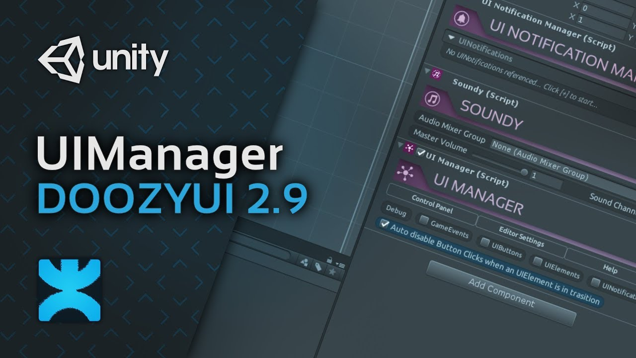 DoozyUI 2 9 - UIManager - Complete UI Management System for
