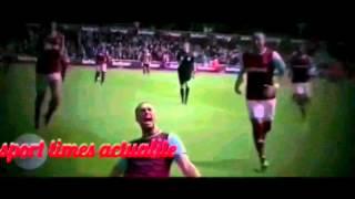 West ham vs Arsenal  2016 3-3, Andy caroll Hattrick Goal
