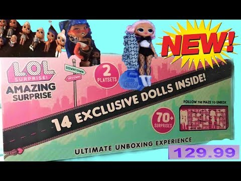 NEW AMAZING SURPRISE $129.99! 14 NEW DOLLS, 70+ surprises LOL Surprise + LOL FLUFFY Pets Karolina 1