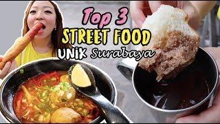 OMZET SEHARI RP 16 JUTA?! TOP 3 STREET FOOD UNIK SURABAYA WAJIB COBA!!