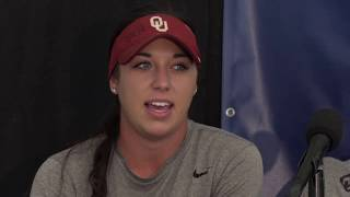 OU Softball - Super Regional press conference