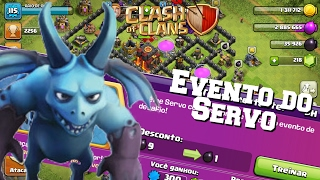 Clash Of Clans Concluindo o Evento Do Servo