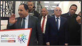 وزير المالية يستمع لشكوى المستمثريين بالمنطقة الحرة فى بورسعيد