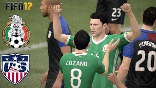 FIFA 17 MEXICO VS USA SUPER CLASICO DE LA CONCACAF
