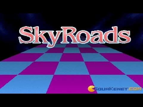 Skyroads gameplay (PC Game, 1993)