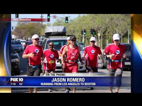 Fox News: Blind Runner Traveling Across the U.S.