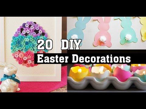20  DIY Easter Decorations