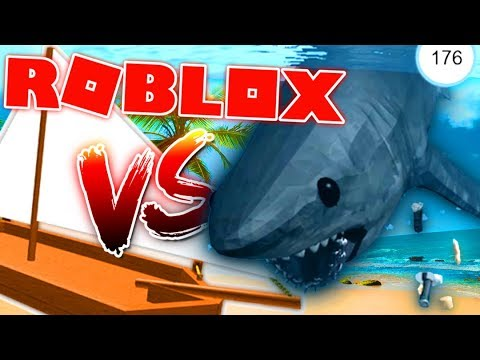 BOAT VS SHARK...WHO WILL WIN? (SHOCKING SURPRISE) - Roblox SharkBite