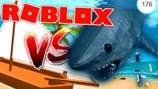 BOAT VS SHARK... WHO WILL WIN? (SHOCKING SURPRISE) - Roblox SharkBite