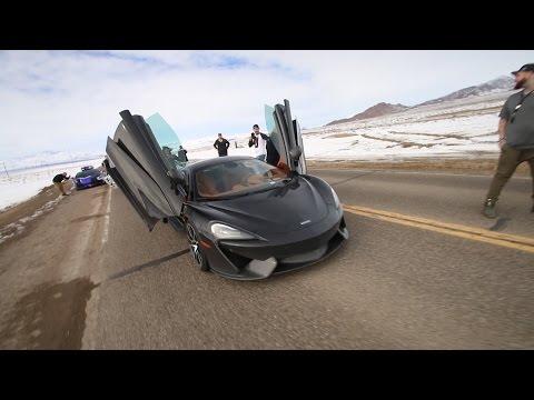 Supercars Racing to Vegas - Snowball Rally 2017