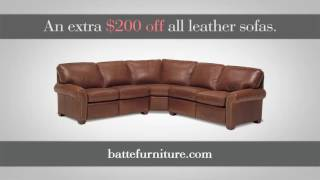 Savings on Fine Leather Furniture at Batte Furniture and Interiors
