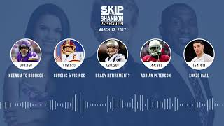 UNDISPUTED Audio Podcast (3.13.18) with Skip Bayless, Shannon Sharpe, Joy Taylor | UNDISPUTED thumbnail