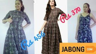 Jabong.com haul and review || jabong.com maxi dress