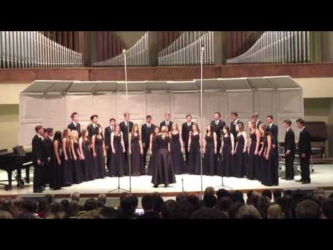 """""""The Blue Bird"""" by Charles Villiers Stanford sung by the Monte Vista Chambers Choir"""