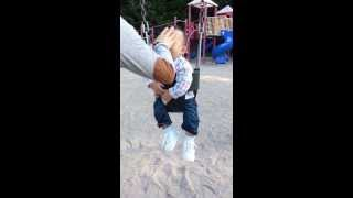 Child being abused at park by horrible mom!!!