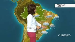 Previsão Brasil – Tempo firme em grande parte do país