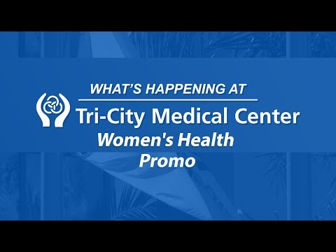 Women's Health – PROMO – What's Happening at Tri-City Medical Center