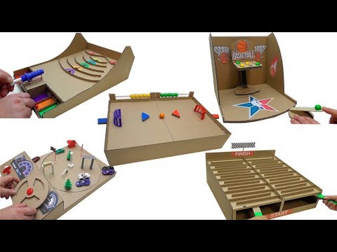 TOP 5 Best Games made of cardboard Desktop game