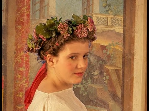 roman style hair hairstyle and costume of the 4247 | hqdefault