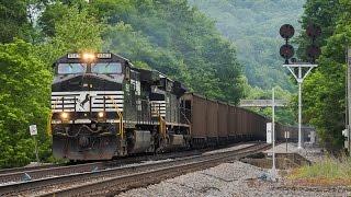 NS Pocahontas Division 6/4/14: Heavy Mountain Railroading