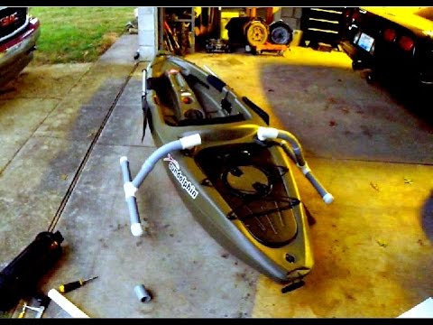 Cheap Kayak Outrigger Tutorial YouTube